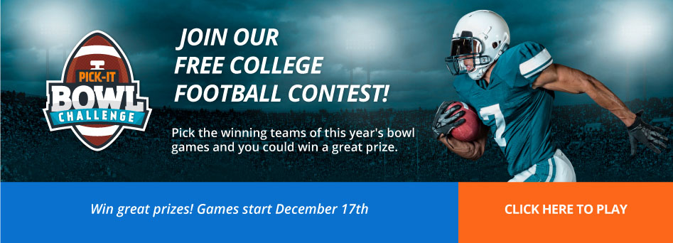 Join our free college football contest. Click here.